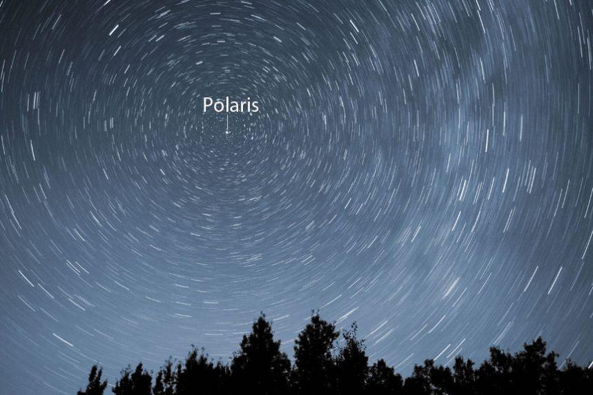 polaris star trail