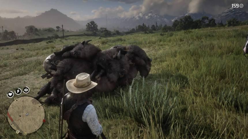 buffalo pile